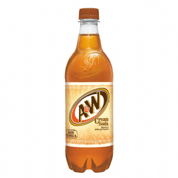 A&W Cream Soda 591ml